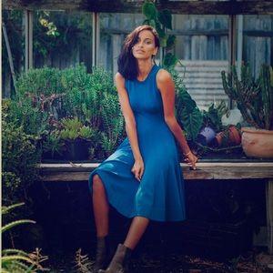A.L.C cobalt blue Peterson dress